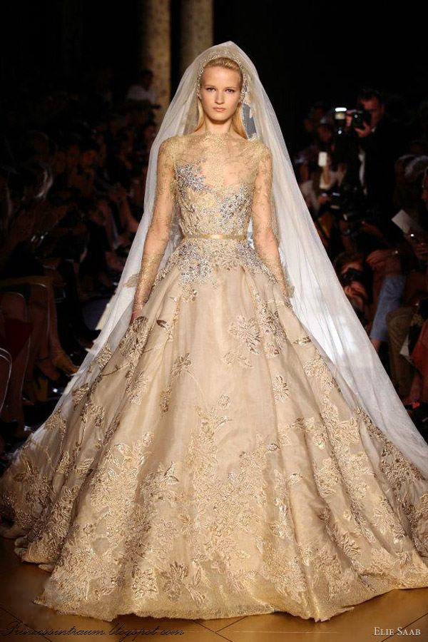 ... Träume: Exquisiter Visual von Elie Saab Couture Herbst 2012
