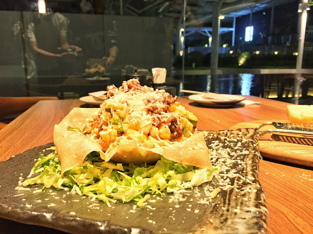 ENBU Suntec City - Taco Salad End Result