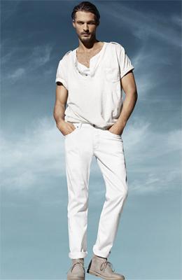 camiseta hombre H&M