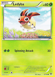 Ledyba Pokemon X and Y Card Review
