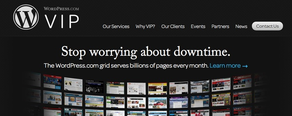 WordPress VIP hosting