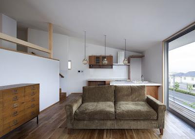 Rumah Minimalis Sederhana 2 Lantai |  Sumber gambar : horibeassociates.com