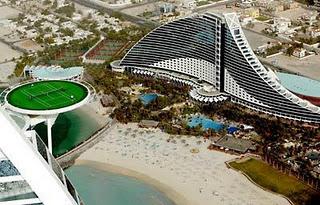 Dubai World S Highest Tennis Court Amazing Amazing Pics
