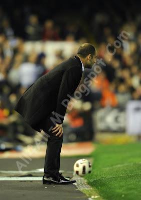 Valencia , Barcelona , Barcelona players, Valencia players, Lionel Messi, Gerard Pique, Sergio Busquets Burgos, David Villa, Villa vs Valencia