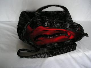 バッグの内部