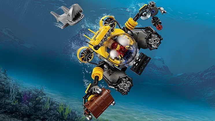 лего подводные лодки мультик