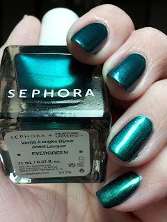 Pantone Universe + Sephora Evergreen