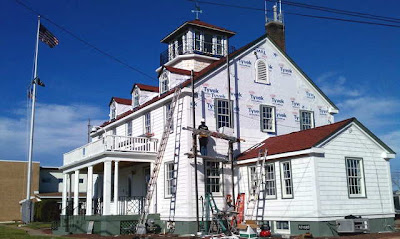 Station Manasquan Under Repair
