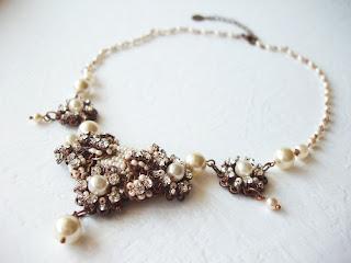 ehted pulmadeks Eesti kristallidega vintage ehted