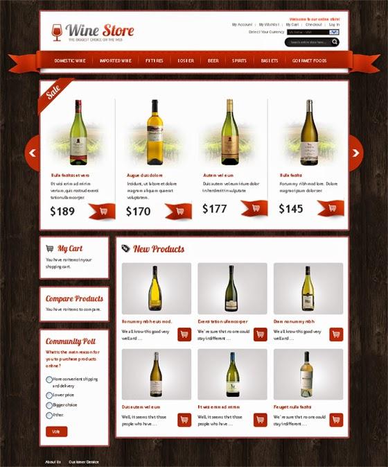 thiết kế web bán hàng rượu