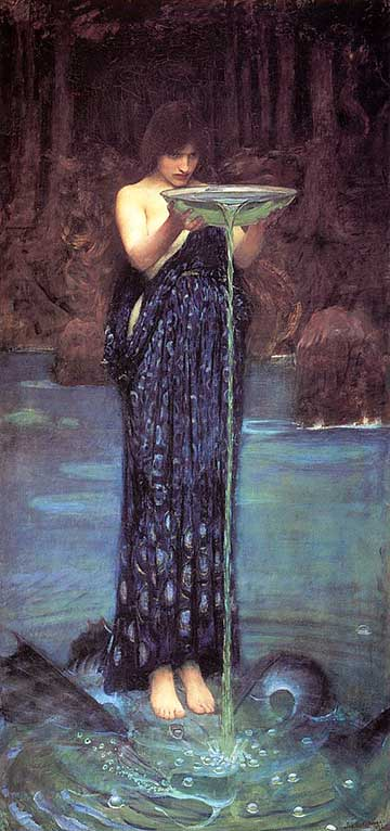 waterhouse circe odysseus