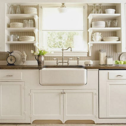 Open shelving in the kitchen | my little sweet house
