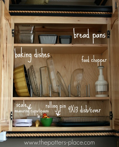 Tips To A More Organized Kitchen Cabinets Drawers