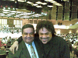 Con mi colega Pedro Eustache