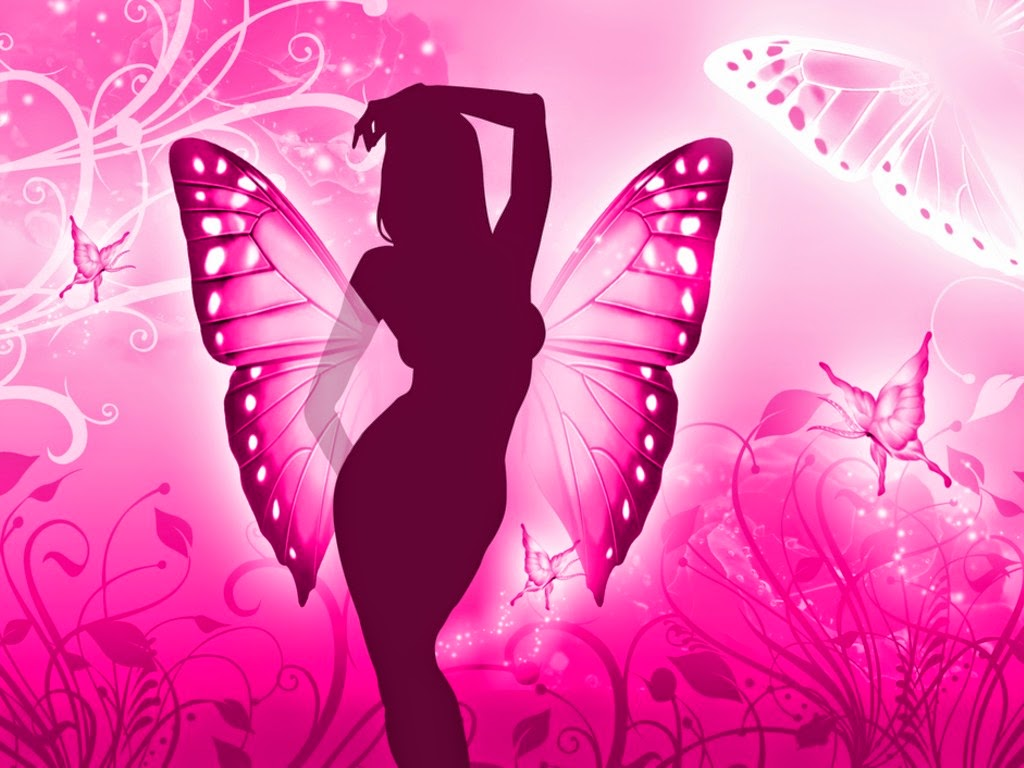 Lady Butterfly HD Wallpapers