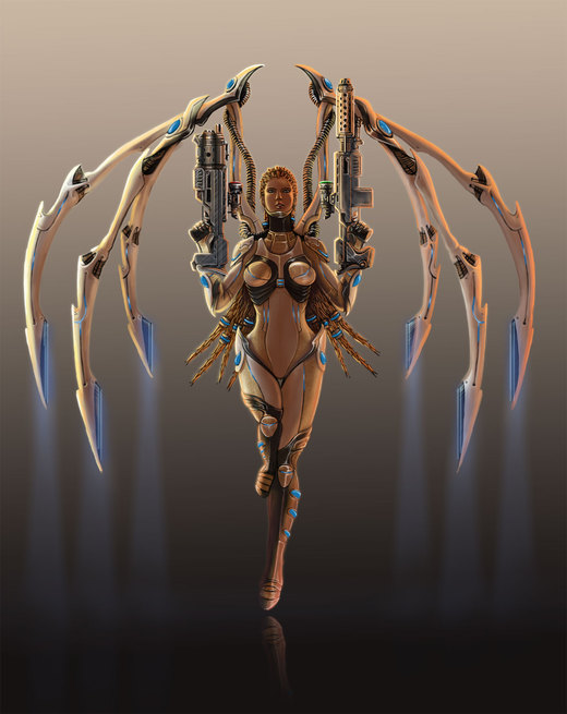 Kerrigan Redeemed Colour por greyf0xuk