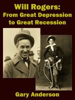 Will Rogers Knew Bankers Were Evil Speculators.
