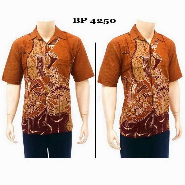 Baju Kemeja Batik Pria