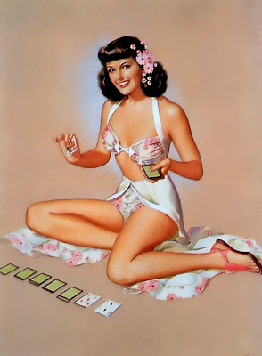 bijoux Pin-up illustration Pearl Frush evanescentes creations  vintage retro lekpa