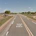 Acesso da entrada e saída de Felipe Guerra pela 405 terá dua faixas.