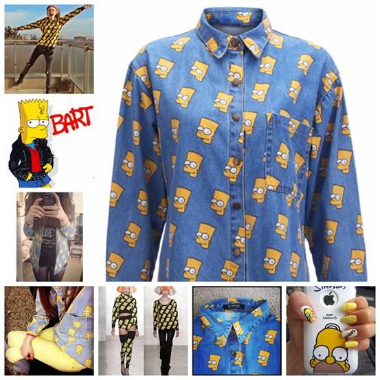 Одежда С Симпсонами
