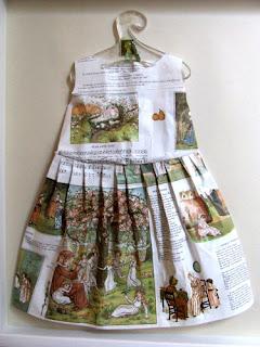 Vestido largo papel de cuentos