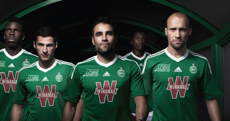 As saint etienne asse 13 14 home and away kits released footy headlines - Kartell saint etienne ...
