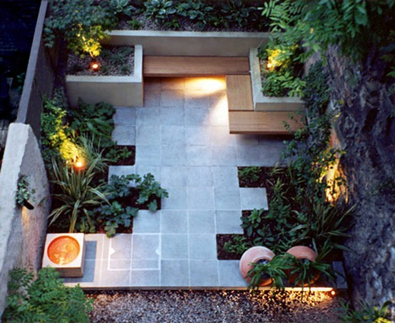 Lines nye verden hageinspirasjon for Modern garden design for small spaces