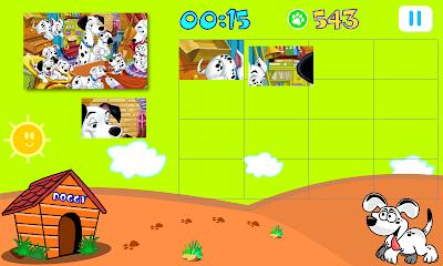 Doggy puzzles para niños