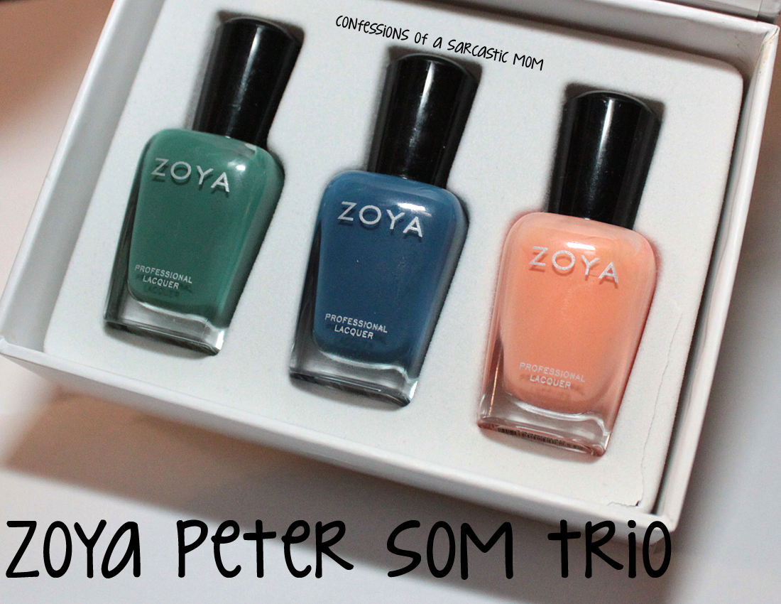 Zoya Peter Som Trio - my own personal wayback machine | Confessions ...