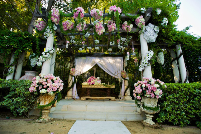 wedding garden decoration ideas photograph   white weddi, Garden idea