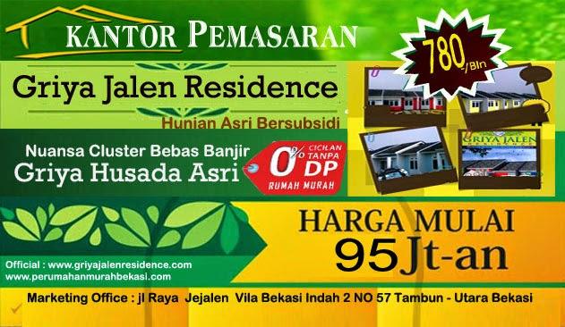 Design Banner Rumah Murah Bekasi 2014