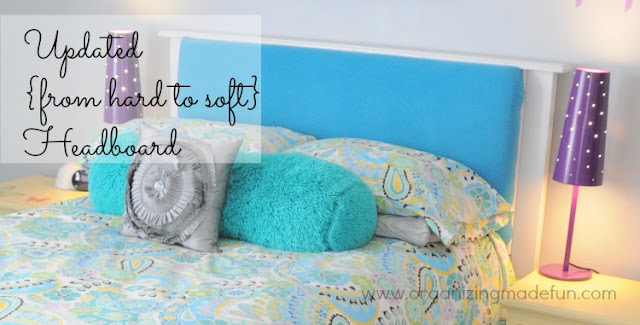 headboard girl room tween