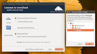 ownCloud Client 1.7.0 selective sync