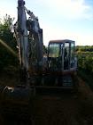 Mini excavadoras giratorias