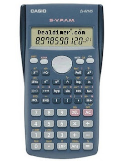 Casio FX82M Scientific Calculator Digits-12