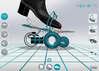Rollkers, Inovasi Sepatu Roda Bermotor