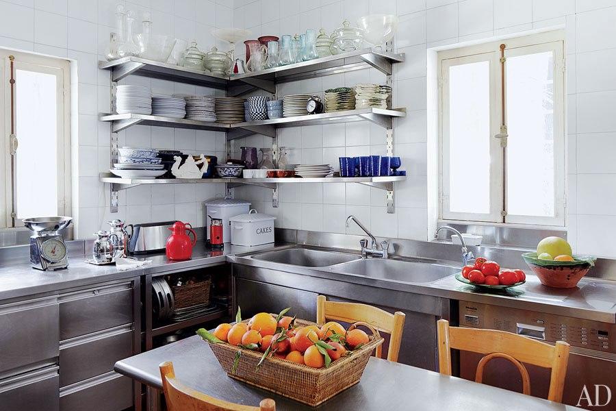 Forum mensole a vista acciaio - Mensole per cucine ...