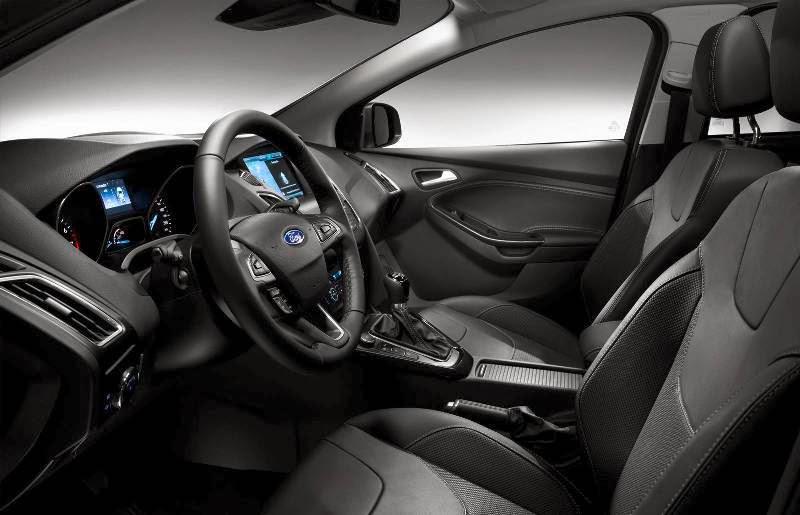 Ford Focus 2015 interior acabamento