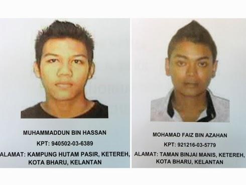 Gambar Suspek Rogol Ramai-Ramai Di Kelantan Didedah