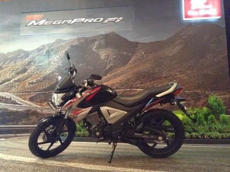 New Honda Megapro FI resmi di rilis,harga Rp 20,45 juta OTR Jakarta dan hanya tersedia versi casting wheel . . .