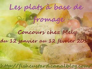 """Concours """"Les plats à base de fromage"""""""