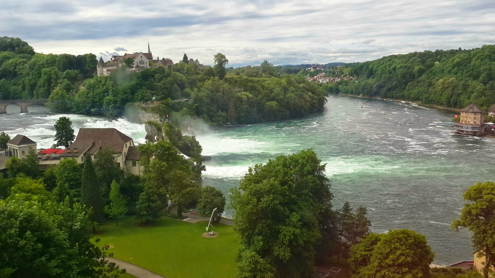 rhine falls from zurich