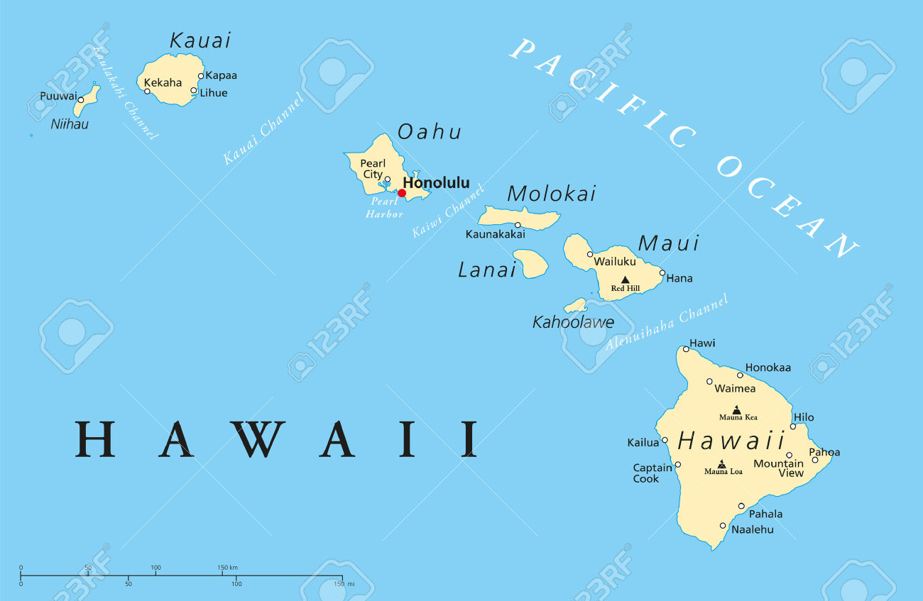 Islas De Hawaii