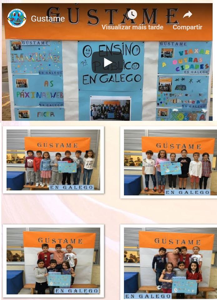 "Campaña ""Gustame en Galego"""