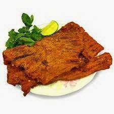 Món ăn ngon: Gỏi xoài xanh khô bò