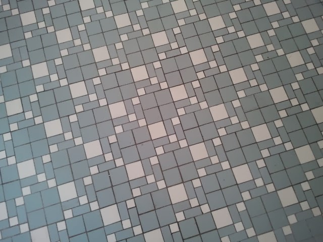 Historic floor tiles and patterns historic homes of for 1930s tile floor