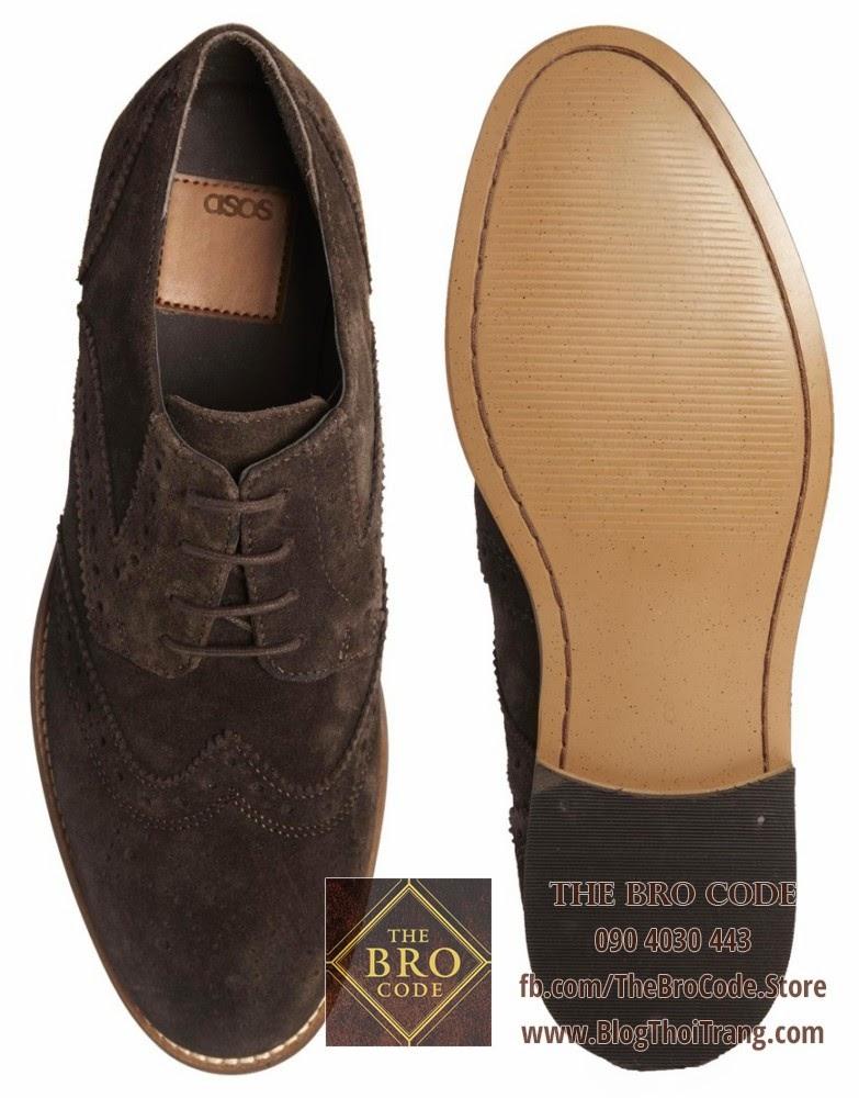 Giày ASOS đóng theo phương pháp Blake/Rapid