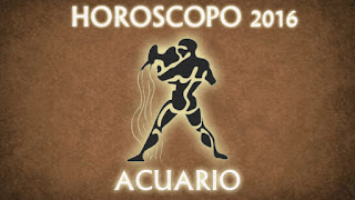 Horoscopo acuario 2016