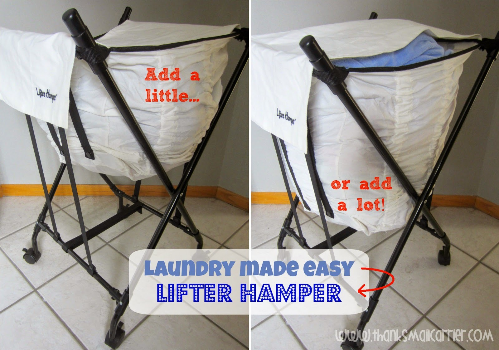 Lifter Hamper laundry hamper review